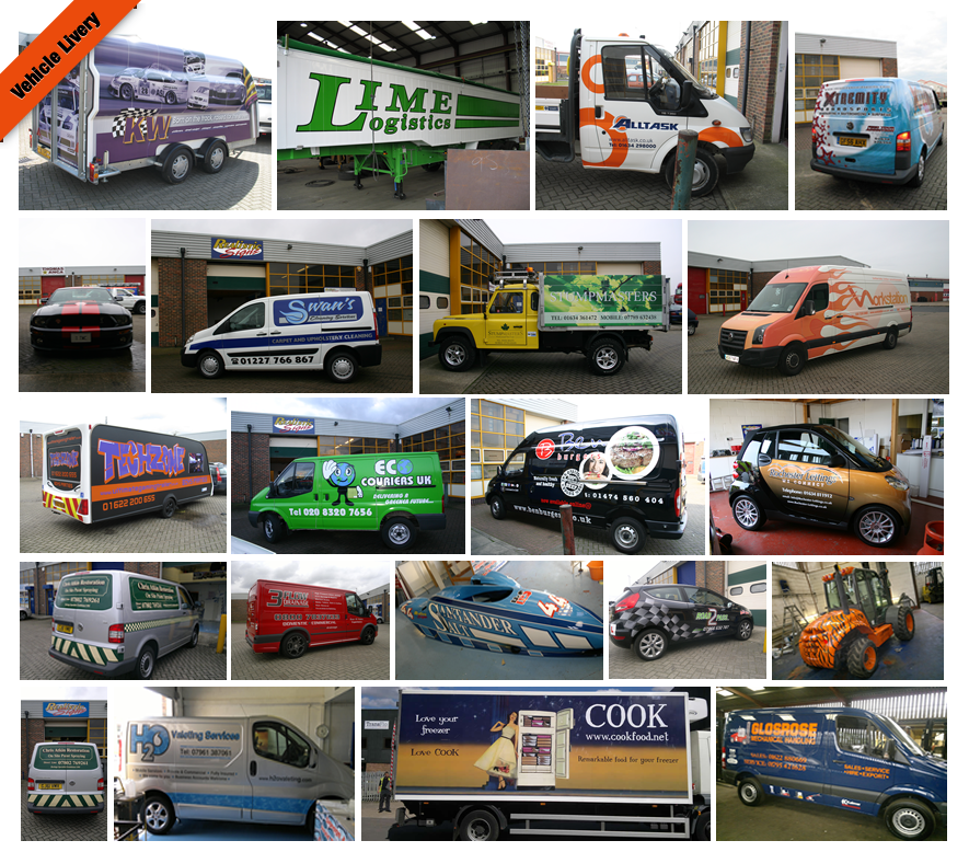 77cf44ed95 Realistic Signs - Vehicle Livery
